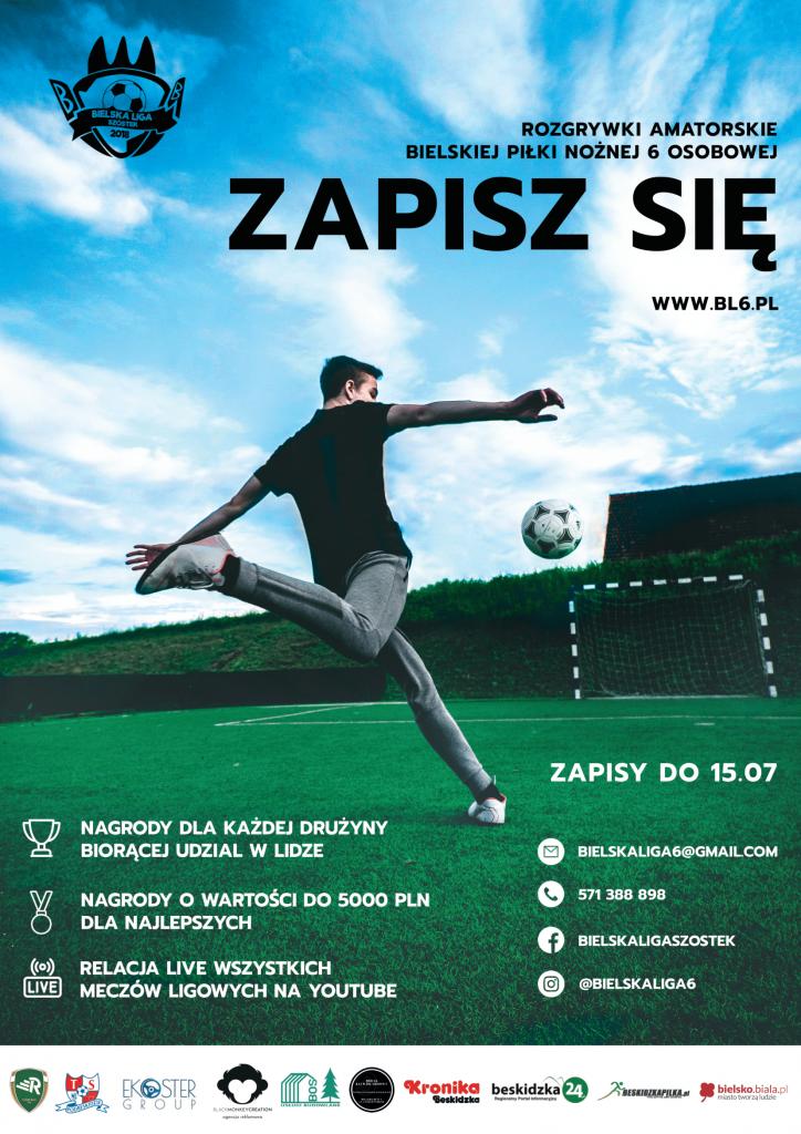 Rozpoczęły się zapisy do Bielskiej Ligi Szóstek w sezonie 2021/2022